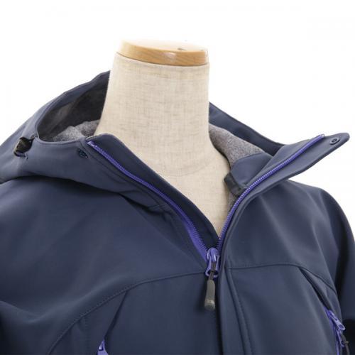 カリマー(karrimor) アリート ウィメンズ ソフトシェルフーディー arete W's softshell hoodie 21108W141-NVY ジャケット(Lady's)