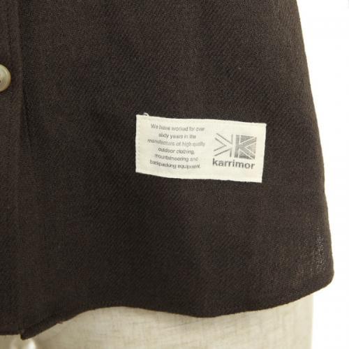 カリマー(karrimor) ウール ウィメンズ シャツ wool W's shirts 51301W141-BRN 長袖シャツ(Lady's)