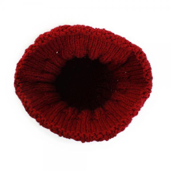 ヴルーヴォーグ スタンダードキャップ RED WWCP-013RED ニット帽 ビーニー(Men's、Lady's)