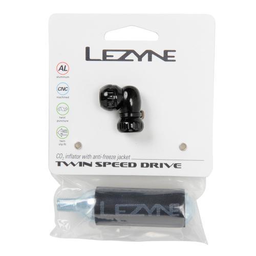 レザイン(LEZYNE) TWIN SPEED DRIVE CO2 16Gツール サイクリングボンベ 57-4311550002