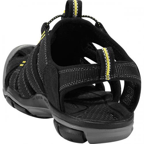 キーン(KEEN) 1008770 Clearwater CNX クリアウォーター シーエヌエックス Black/Yellow ウィメンズ サンダル(Lady's)
