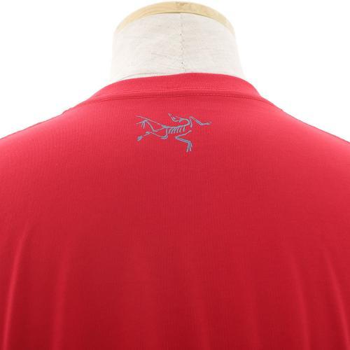 アークテリクス(ARC'TERYX) ARC MOUNTAIN SS T メンズ 半袖Tシャツ L06412500-DRED(Men's)