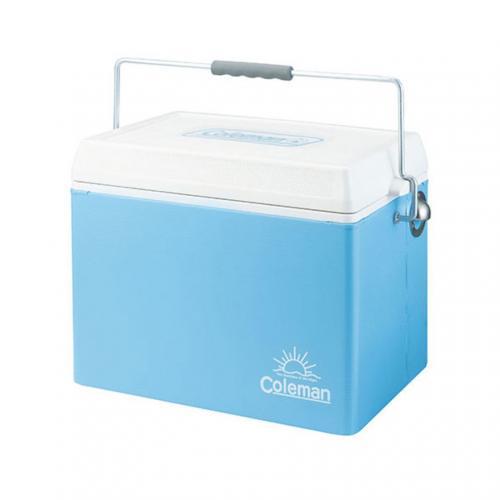 コールマン(Coleman) レトロスチールクーラー/28QT ブルー 2000022233 キャンプ用品 クーラーボックス(Men's、Lady's)