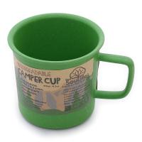 EcoSouLife Camper Cup 14701 Green キャンプ用品 マグカップ(Men's、Lady's)