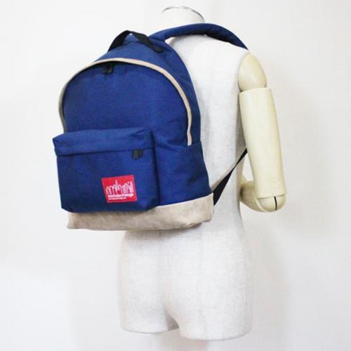 マンハッタンポーテージ(ManhattanPortage) マンハッタンポーテージ Manhattan Portage Suede Fabric Big Apple Backpack 1209SD13 Navy(Men's)
