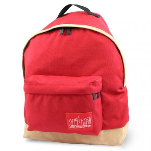 マンハッタンポーテージ(ManhattanPortage) マンハッタンポーテージ Manhattan Portage Suede Fabric Big Apple Backpack 1209SD13 Red(Men's)