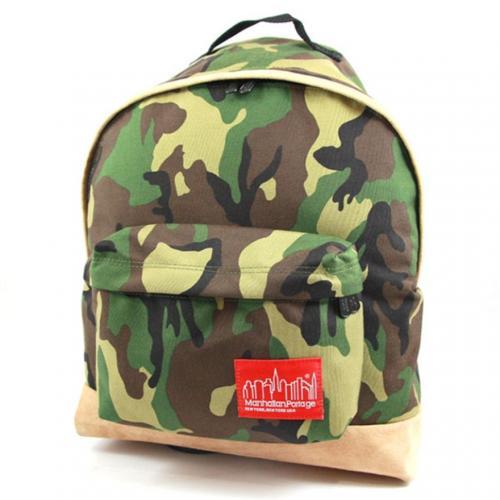 マンハッタンポーテージ(ManhattanPortage) マンハッタンポーテージ Manhattan Portage Suede Fabric Big Apple Backpack 1209SD13 W.Camo(Men's)