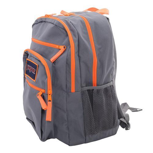 ジャンスポーツ(JANSPORT) BIG STUDENT OVEREXPOSED T75K-0CT Shady Grey/Fluorescent Orange(Men's、Lady's)
