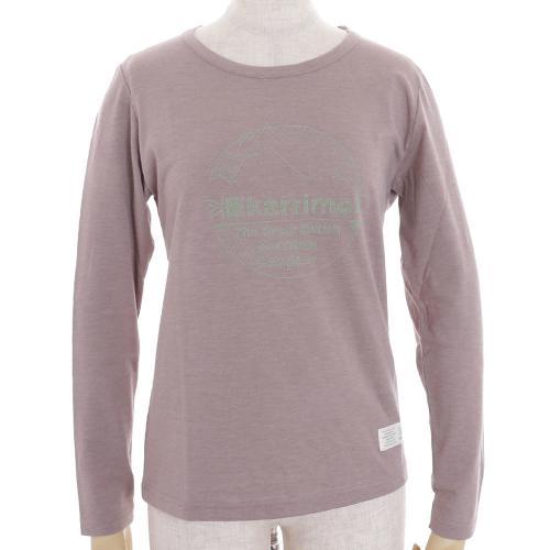 カリマー(karrimor) クラシック ウィメンズ ロングT classic W's long T 21801W151-Mocha 半袖Tシャツ(Lady's)