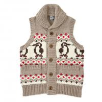 チャムス(CHUMS) パークシティー ニットベスト Park City Knit Vest CH04-1015 (Men's)