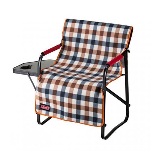コールマン(Coleman) フリースチェアカバー ブラウンチェック 2000026533 椅子 アクセサリ(Men's、Lady's)