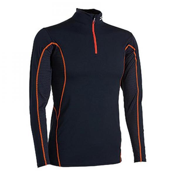ミズノ(MIZUNO) ミッドウエイトハーフジップシャツ Z2JA542075 Sサイズ メンズ ウィンターウェア インナー アンダーシャツ オレンジST スキー(Men's)