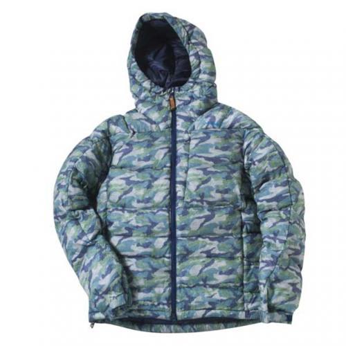 フェニックス(PHENIX) Crimps Camo Down Jacket PH452OT26 グリーン メンズ ダウンジャケット(Men's)