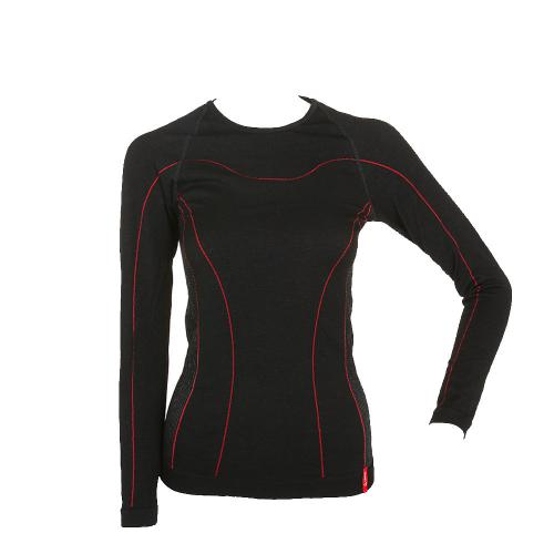サロモン(SALOMON) WOMEN WARM SEAMLESS 15020 990Blk アンダーウェア(Lady's)