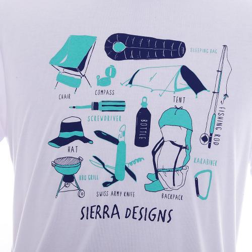シェラデザインズ(SIERRA DESIGNS) キャンプグッズ ボウブンTシャツ 30903196 防蚊 UVカット 抗菌 吸汗 速乾(Men's)