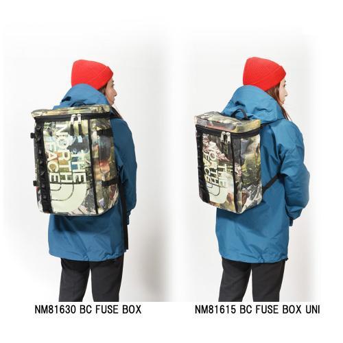 ノースフェイス(THE NORTH FACE) BCヒューズボックス ユニ 21L 【別注 小型タイプ】 BC FUSE BOX UNI NM81615 MW 【別注 小型タイプ】(Men's、Lady's)