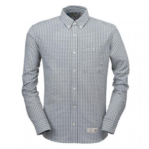 カリマー(karrimor) ベニ シャツ L/S beni Ws shirts L/S 21301M162-Grey メンズ 長袖シャツ(Men's)