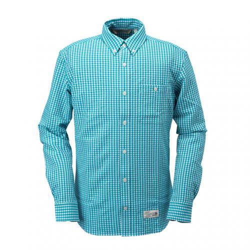カリマー(karrimor) ベニ シャツ L/S beni Ws shirts L/S 21301M162-Turquoise メンズ 長袖シャツ(Men's)