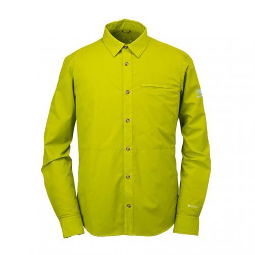 カリマー(karrimor) ベクターシャツ L/S vector shirts L/S 21303M162-Citron メンズ 長袖シャツ 撥水 耐風(Men's)