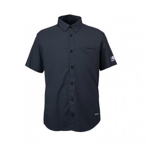 カリマー(karrimor) ベクターシャツ S/S vector shirts S/S 21306M162-Black メンズ 撥水 ストレッチ 耐風(Men's)