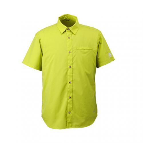 カリマー(karrimor) ベクターシャツ S/S vector shirts S/S 21306M162-Citron メンズ 撥水 ストレッチ 耐風(Men's)