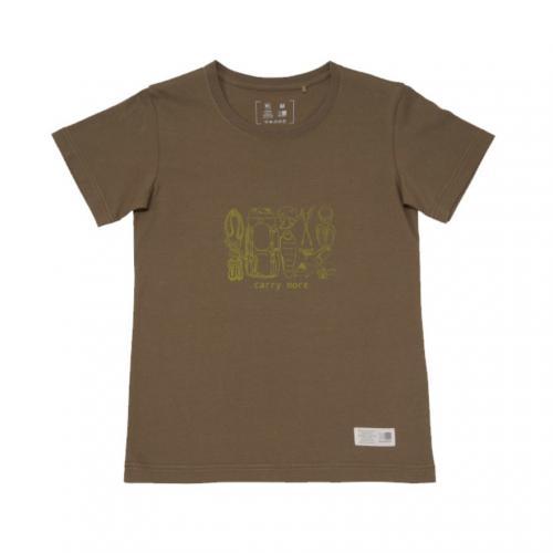カリマー(karrimor) キャリー モア ウィメンズ T carry more W's T 51811W162-Coyote 半袖Tシャツ(Lady's)