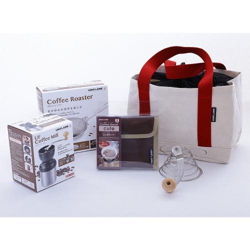 ユニフレーム(UNIFLAME) UFコーヒーセット UF Coffee Set 664094 キャンプ 調理器具(Men's、Lady's)