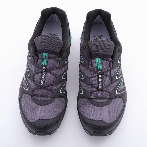 サロモン(SALOMON) Kiliwa GTX AUTOBAHN/ASPHALT/Athletic Green X L38143600 防水透湿(Men's)