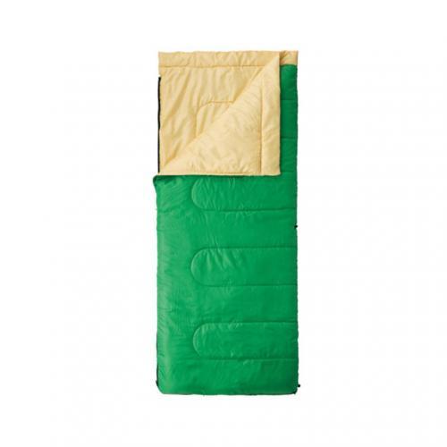 コールマン(Coleman) パフォーマーII /C10(グリーン/イエロー) 2000027261 キャンプ用品 シュラフ 寝袋(Men's、Lady's)