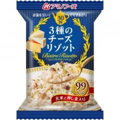 メーカーブランド(BRAND) アマノフーズ 3種のチーズリゾット 玄米と押し麦入り ドライフード(Men's、Lady's、Jr)