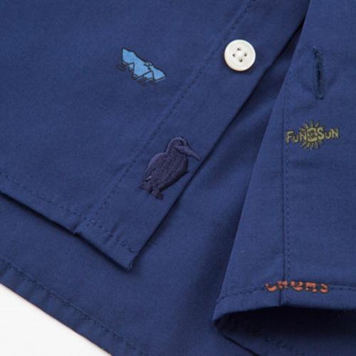 チャムス(CHUMS) Andes Shirt Womens 半袖 シャツ CH12-1030(Men's、Lady's)