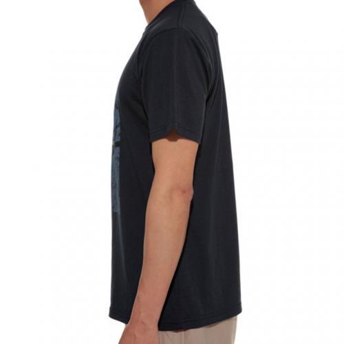 ロックウォールプリントティーシャツ ネイビー TS-16SU002-NV メンズ 半袖Tシャツ