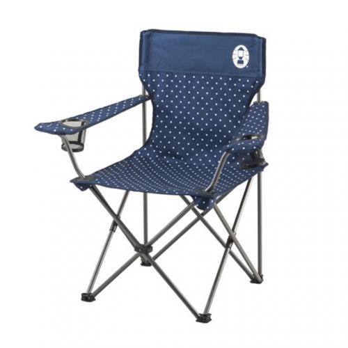 コールマン(Coleman) リゾートチェア ネイビードット 2000026736 折りたたみ椅子 キャンプ(Men's、Lady's)
