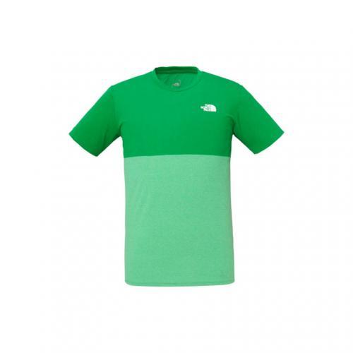 ノースフェイス(THE NORTH FACE) プリントパネルティー S/S Print Pannel Tee NT31566 SG メンズ 半袖Tシャツ(Men's)