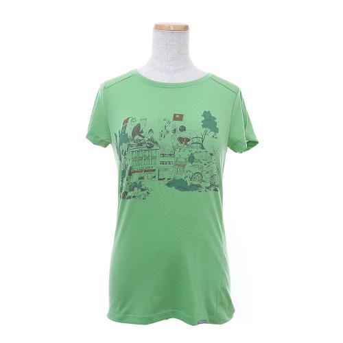 フーディニ(HOUDINI) ウィメンズ ロック ステディー メッセージ Tシャツ W's Rock Steady Message Tee 195514 (Lady's)