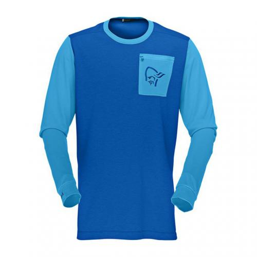 ノローナ(NORRONA) ノローナ NORRONA イコライザーLW LS FJORA EQUALISER LIGHTWEIGHT LONG SLEEVE ロングスリーブシャツ 7054-15(Men's)