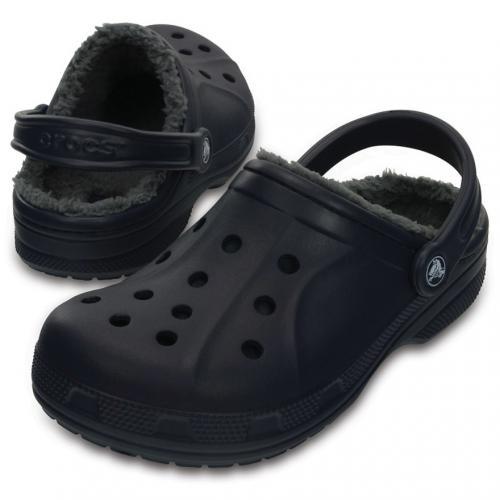 クロックス(crocs) ウィンタークロッグ Winter Clog Nvy/Char 203766 459 サンダル (Men's、Lady's)