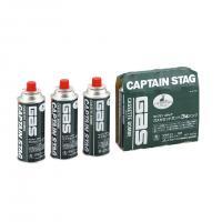 キャプテンスタッグ(CAPTAIN STAG) キャプテンスタッグ ガスカセットボンベ 3本パック  M-7621 キャンプ バーベキュー ガス(Men's、Lady's)