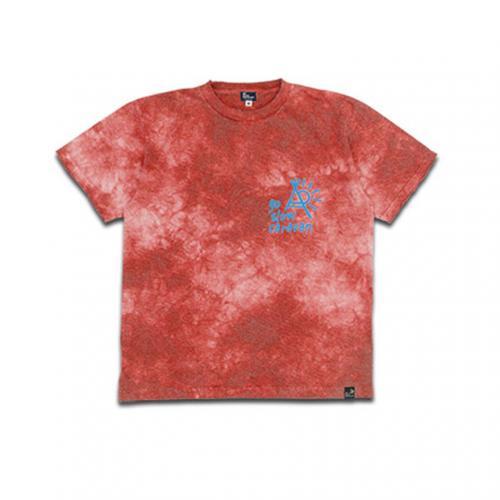 ゴースローキャラバン(GOSLOWCARAVAN) ムラ染め 半袖Tシャツ 345702-RED(Men's)