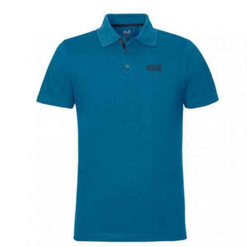 ジャックウルフスキン(JackWolfskin) ジャックウルフスキン Jack Wolfskin PIQUE FUNCTN 65 POLO ポロシャツ 1804651(Men's)