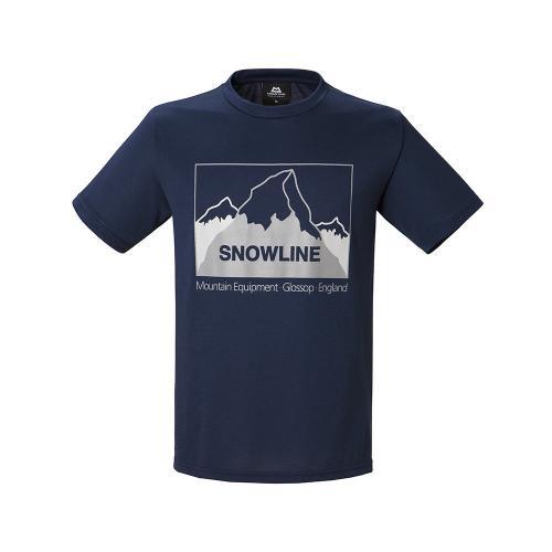 マウンテン・イクィップメント(MOUNTAIN EQUIPMENT) ダブル フェイス ティー スノーライン Double Face Tee Snowline 423753-I00 半袖Tシャツ(Men's)