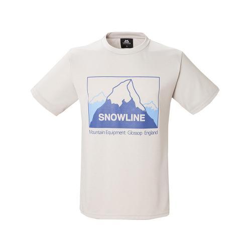 マウンテン・イクィップメント(MOUNTAIN EQUIPMENT) ダブル フェイス ティー スノーライン Double Face Tee Snowline 423753-S44 半袖Tシャツ(Men's)