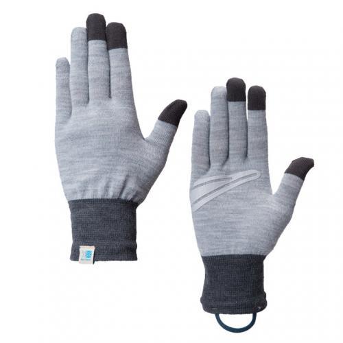 カリマー(karrimor) ウール グローブ +d wool glove+d 82708A161-L.Grey 保温 タッチパネル対応(Men's、Lady's)