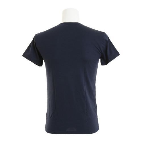 クー(Coo.) microbator 半袖 クルーネックTシャツ 891Q5SK2806NVY(Men's)