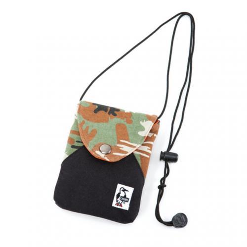 チャムス(CHUMS) Smart Multi Case Sweat Nylon CH60-2182-Z048 Booby Camo/Black モバイルケース(Men's、Lady's)