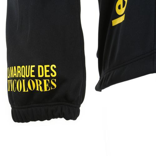 ルコック スポルティフ(Lecoq Sportif) テクノブレンニット3Lジャケット メンズ 男性用 ジャケット 自転車ウエア QC-840263 BLK ブラック(Men's)