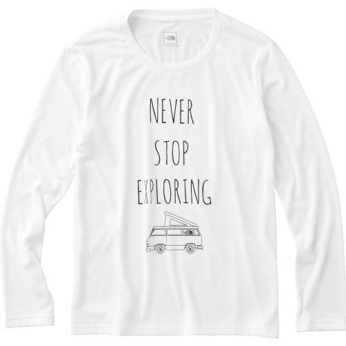 ノースフェイス(THE NORTH FACE) ロングスリーブ ドゥーユアシングティー L/S Do Your Thing Tee NTW81633 W ウィメンズ 長袖Tシャツ(Lady's)