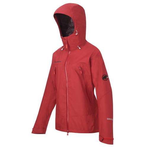 マムート(MAMMUT) GORE TEX ALL ROUNDER JACKET WOMEN 1010-22270 3038 lava ウィメンズ ハードシェル(Lady's)