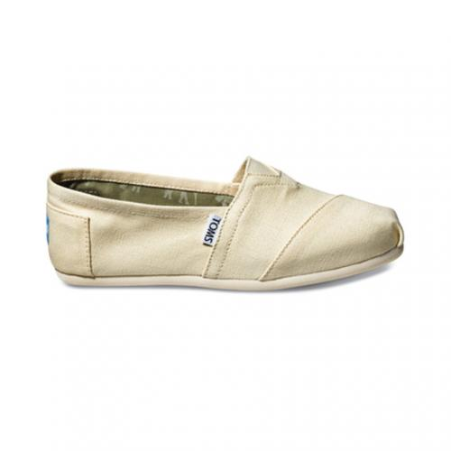 トムス(TOMS) NATURAL CANVAS WOMEN'S CLASSICS レディース スリッポン 001001B07-LTBGE(Lady's)