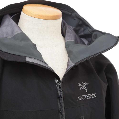 アークテリクス(ARC'TERYX) アルファSVジャケット ALPHA SV JACKET L06691100 BLACK シェルジャケット(Men's)